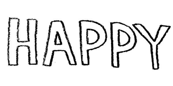 字が苦手でも大丈夫、外国風手書きバースデーカード(お誕生日カード)の書き方!①「字体の種類」